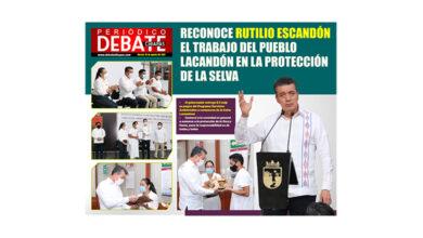 Photo of RECONOCE RUTILIO ESCANDÓN EL TRABAJO DEL PUEBLO LACANDÓN EN LA PROTECCIÓN DE LA SELVA