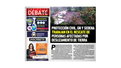 Photo of PROTECCIÓN CIVIL, GN Y SEDENA TRABAJAN EN EL RESCATE DE PERSONAS AFECTADAS POR DESLIZAMIENTO DE TIERRA
