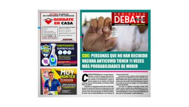 Photo of CDC: PERSONAS QUE NO HAN RECIBIDO VACUNA ANTICOVID TIENEN 11 VECES MÁS PROBABILIDADES DE MORIR