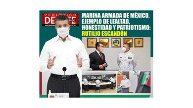Photo of MARINA ARMADA DE MÉXICO, EJEMPLO DE LEALTAD, HONESTIDAD Y PATRIOTISMO: RUTILIO ESCANDÓN