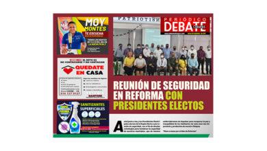 Photo of REUNIÓN DE SEGURIDAD EN REFORMA CON PRESIDENTES ELECTOS