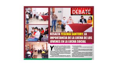 Photo of RESALTA YESENIA SANTORY, LA IMPORTANCIA DE LA LUCHA DE LOS JÓVENES EN LA LUCHA SOCIAL