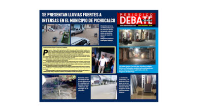 Photo of SE PRESENTAN LLUVIAS FUERTES A INTENSAS EN EL MUNICIPIO DE PICHUCALCO