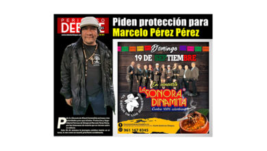 Photo of Piden protección para Marcelo Pérez Pérez