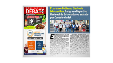 Photo of Promueve Gobierno Electo de Ixtacomitan, Congreso Deportivo Nacional de Entrenadores avalado por Conade e Indet