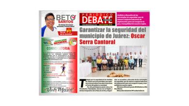 Photo of Garantizar la seguridad del municipio de Juárez: Oscar Serra Cantoral
